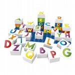 BiOBUDDi - Learning Letters - Eco Friendly Block Set - 36 Blocks
